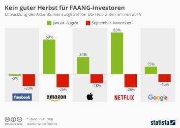 Facebook Infografik - Kein guter Herbst für FAANG-Investoren