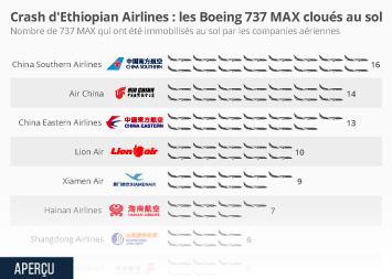 Les Boeing 737 MAX cloués au sol