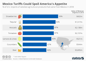 Mexico Tariffs Could Spoil America's Appetite