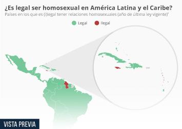 En nueve países caribeños es ilegal ser homosexual