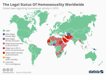 The Legal Status Of Homosexuality Worldwide