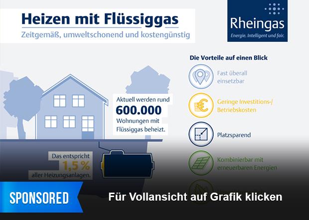 Infografik: Heizen mit Flüssiggas – Zeitgemäß, umweltschonend und ...
