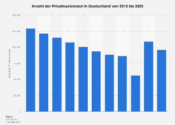 Privatinsolvenzen in Deutschland bis 2017