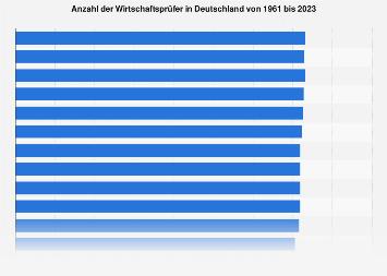 Anzahl der Wirtschaftsprüfer in Deutschland bis 2019