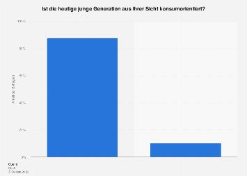 Konsumorientierung ist für die junge Generation kennzeichnend