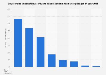 Energieverbrauch - Anteil der Energieträger in Deutschland 2016
