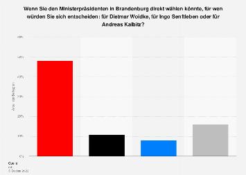 Direktwahl des Ministerpräsidenten in Brandenburg 2019