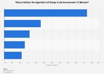 Gründe für sorgenvolle Zukunftserwartung in Österreich 2017