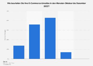 Einschätzung des eigenen E-Commerce-Umsatzes von B2B-Unternehmen bis Februar 2019