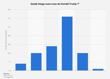 Avis des Français sur le 45ème Président des États-Unis Donald Trump 2018