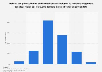 Avis des professionnels de l'immobilier sur l'état du marché France 2017