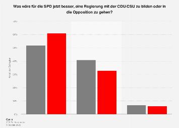 Bewertung der Optionen für die SPD nach den Koalitionsverhandlungen