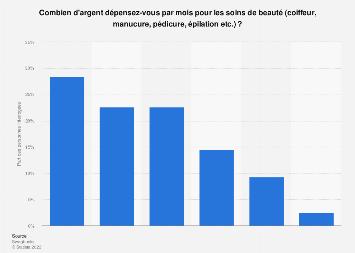 Soins De Beaute Depenses Mensuelles France 2019 Statista