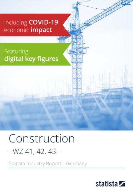 Statista Branchenreport - WZ-Code 41,42,43