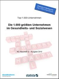 Top-1.000-Unternehmen im Gesundheitsmarkt