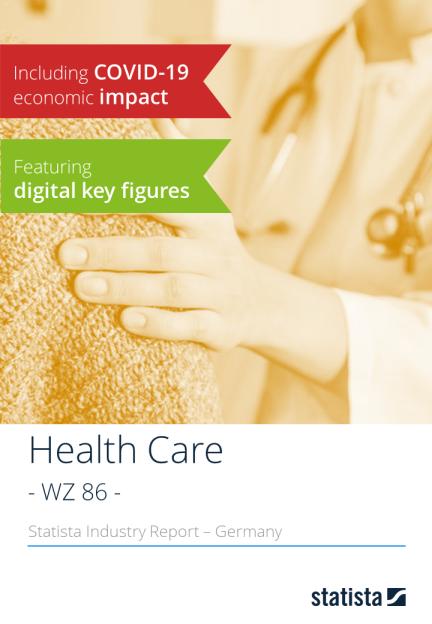 Statista Branchenreport - WZ-Code 86