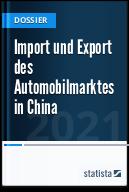 Import und Export des Automobilmarktes in China