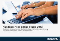 Kundenservice online Studie 2013