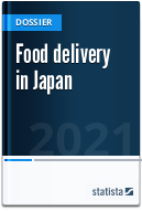 Food delivery in Japan