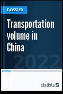 Transportation volume in China