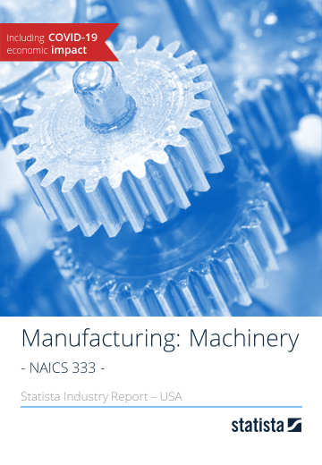 Manufacturing: Machinery in the U.S. 2018