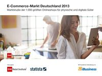E-Commerce-Markt Deutschland 2013