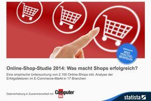Online-Shop-Studie 2014: Was macht Shops erfolgreich?