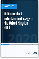 Online media & entertainment usage in the United Kingdom (UK)