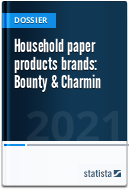 Household paper products brands: Bounty & Charmin