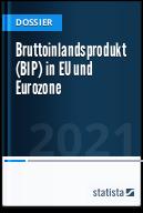 Bruttoinlandsprodukt (BIP) in EU und Euro-Zone