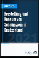 Herstellung und Konsum von Schaumwein in Deutschland