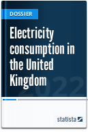 Electricity consumption in the UK