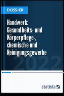Handwerk: Gesundheits- und Körperpflege-, chemische und Reinigungsgewerbe