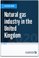 Natural gas production and consumption in the United Kingdom (UK)