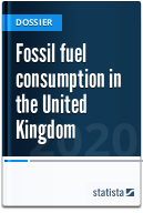 Fossil fuel consumption in the UK