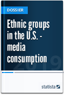 Ethnic groups in the U.S. - media consumption