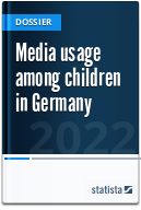 Media usage among children in Germany