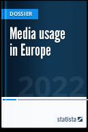 Media usage in Europe