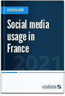 Social network usage in France