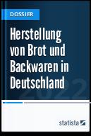 Herstellung von Brot und Backwaren in Deutschland