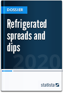 Refrigerated spreads and dips