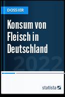 Konsum von Fleisch in Deutschland