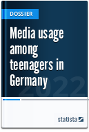 Media usage among teenagers in Germany