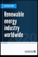 Renewable energy industry worldwide
