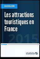 Les attractions touristiques en France