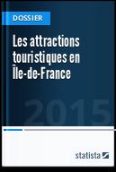 Les attractions touristiques en Île-de-France