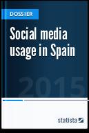 Social media usage in Spain