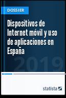 Dispositivos de Internet móvil y consumo de apps en España