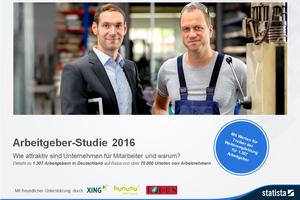 Arbeitgeber-Studie 2016