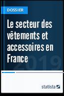 Le secteur des vêtements et accessoires en France